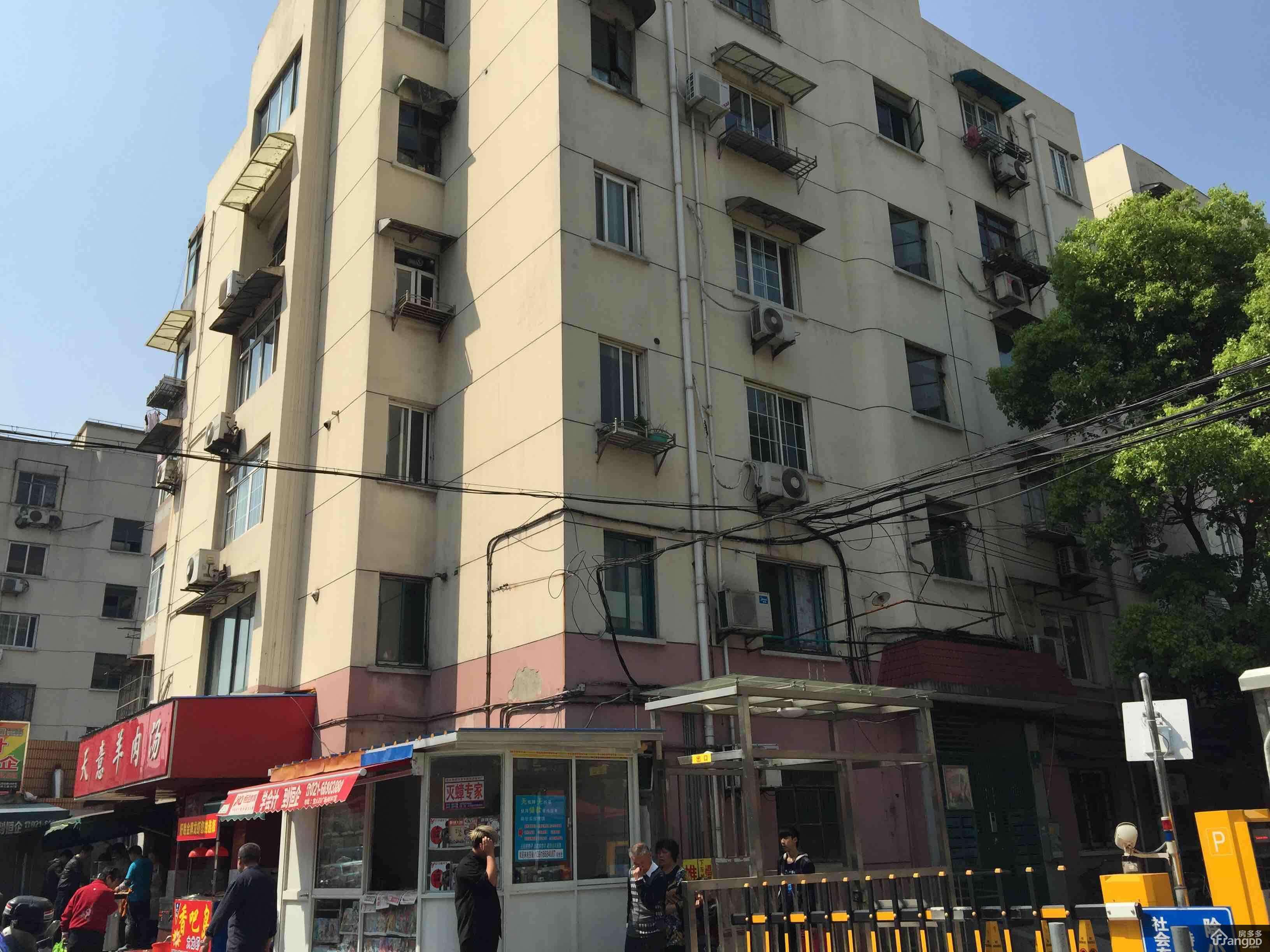 上海80年代楼房手绘