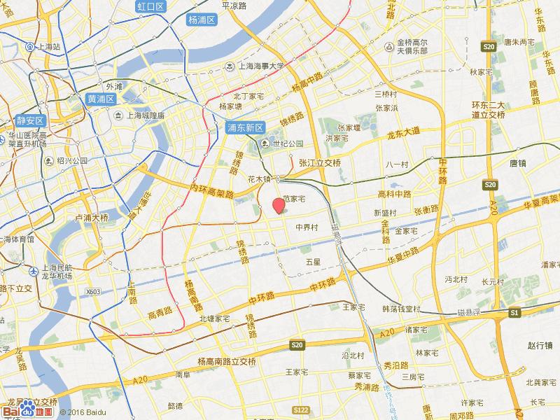 上海北蔡镇地图