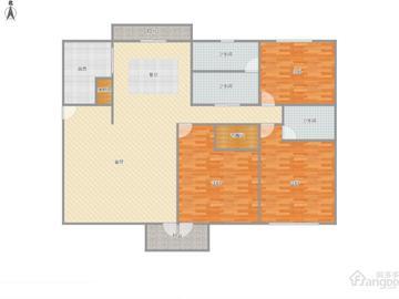 万科白马花园3室2厅134平-上海松江二手房-房多多