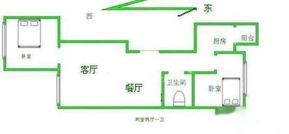 松园大厦平面图