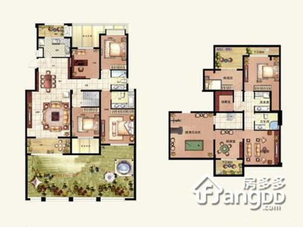 116平方3室2厅平面图   二室二厅的房子怎样装修   帮你推