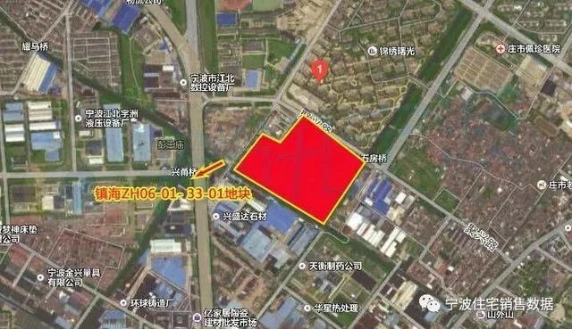 万科13.14亿元斩获宁波镇海区一宗地——周边房价2万左右