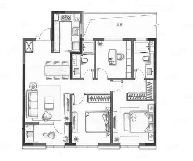 高铁新城核心160万起的朗诗科技住宅,不限购不限贷?