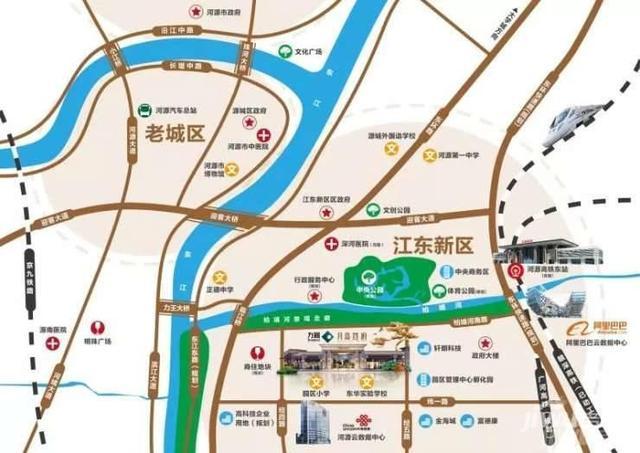 河源江东新区和东源房子哪里好 方圆月岛首府好吗