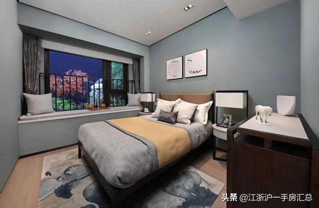 """上海最后一个潜力""""新城""""!建面125㎡花园叠墅重现..."""