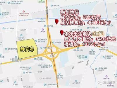 楼板价约4.9万元/㎡,仁恒拿下大宁优质宅地!北上海再添一大豪宅项目