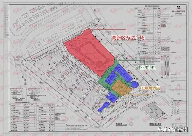 大福州第五家万达广场落地仓山城南!占地45亩!对接地铁