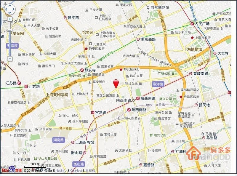 襄阳北路44弄交通图