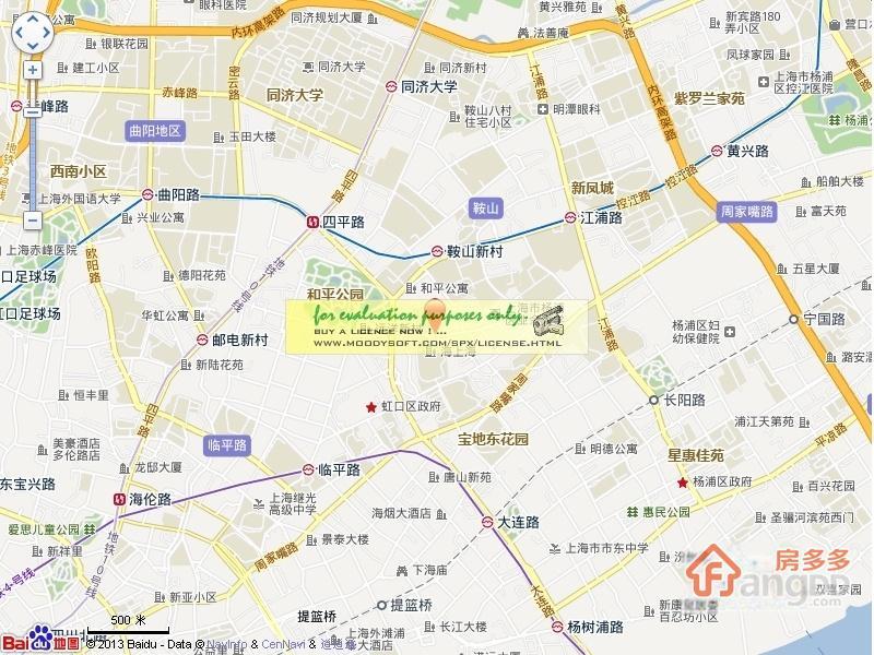 恒阳花苑交通图