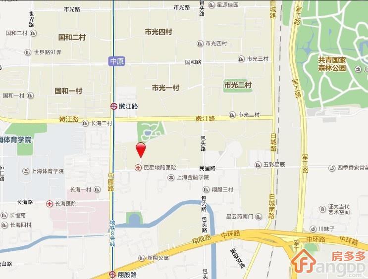 民星二村交通图