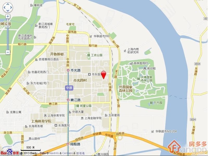 市光三村交通图
