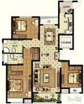华安观澜盛世3室2厅2卫户型图