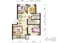 保利白沙林语3室2厅1卫户型图