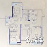 红谷瑞仕城际广场4室2厅2卫户型图