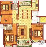 中国铁建青秀城·领秀4室2厅2卫户型图