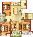 中国铁建青秀城·领秀3室2厅1卫户型图