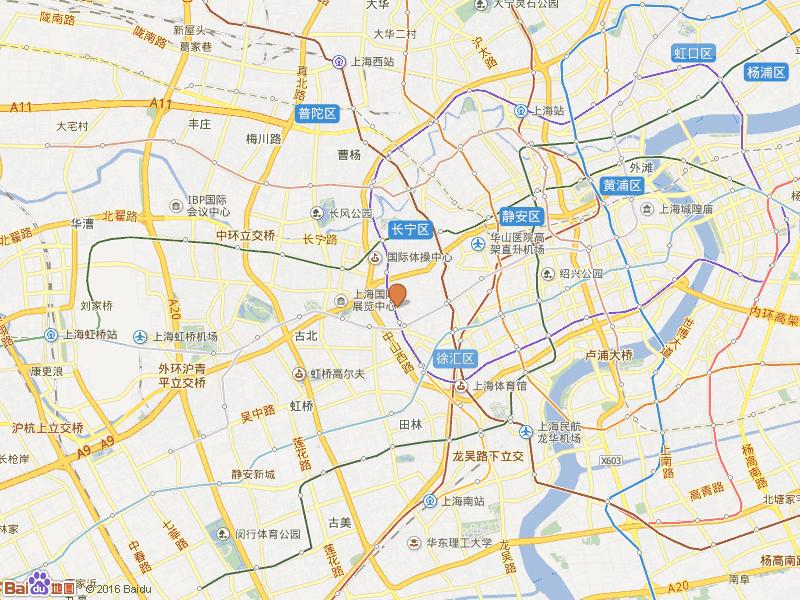 新华苑交通图