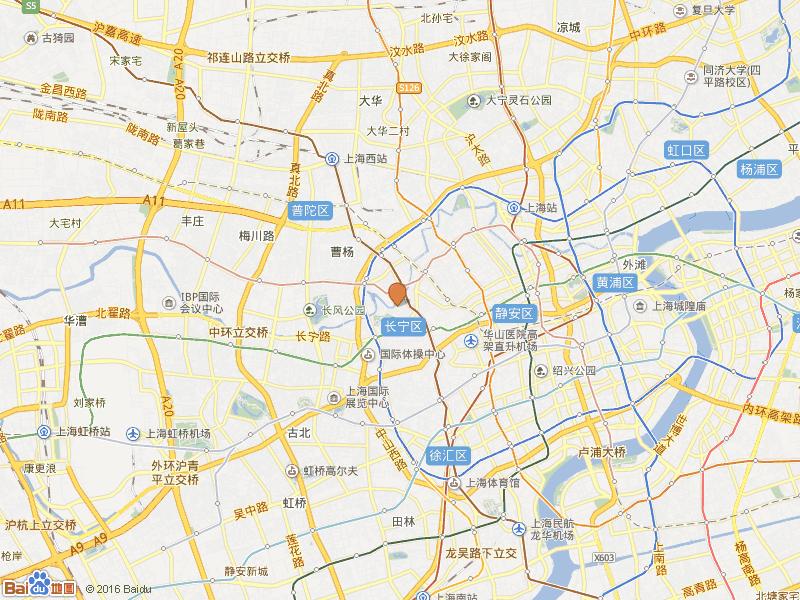 万航小区交通图