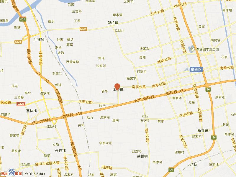 庄南小区交通图