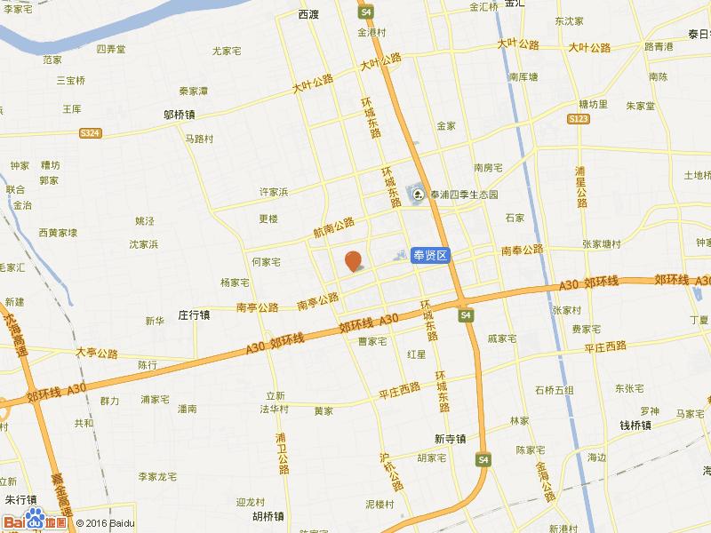 解放新村交通图