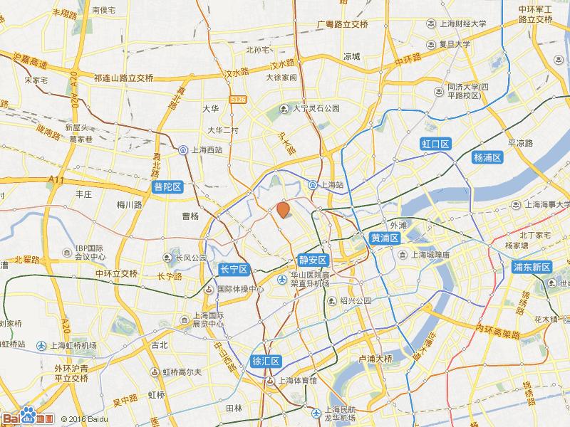 静安晶华园交通图
