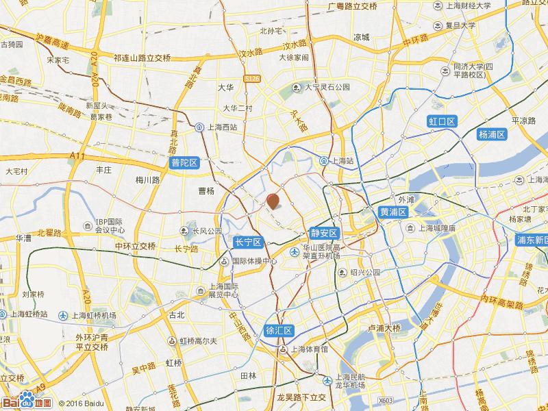 姚西小区交通图