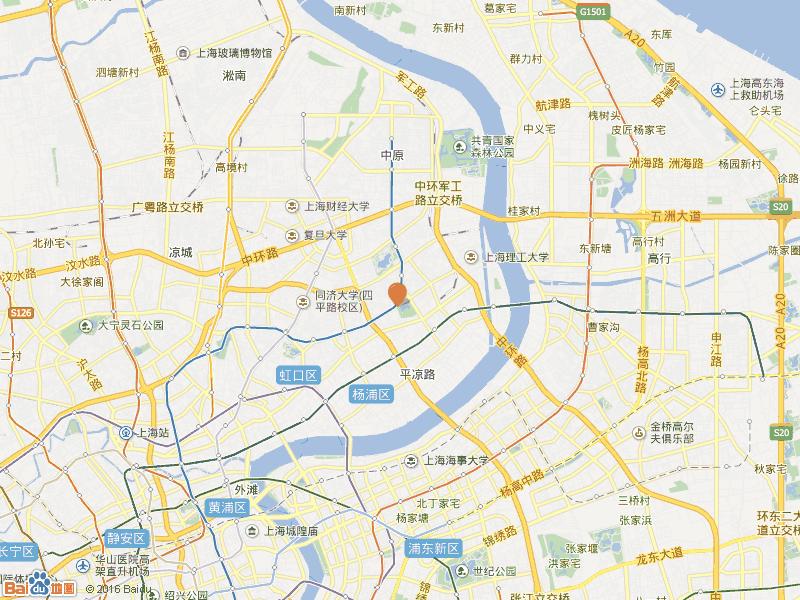 控江路888弄交通图