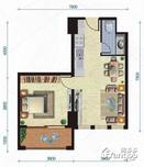 合一中央城1室1厅1卫户型图