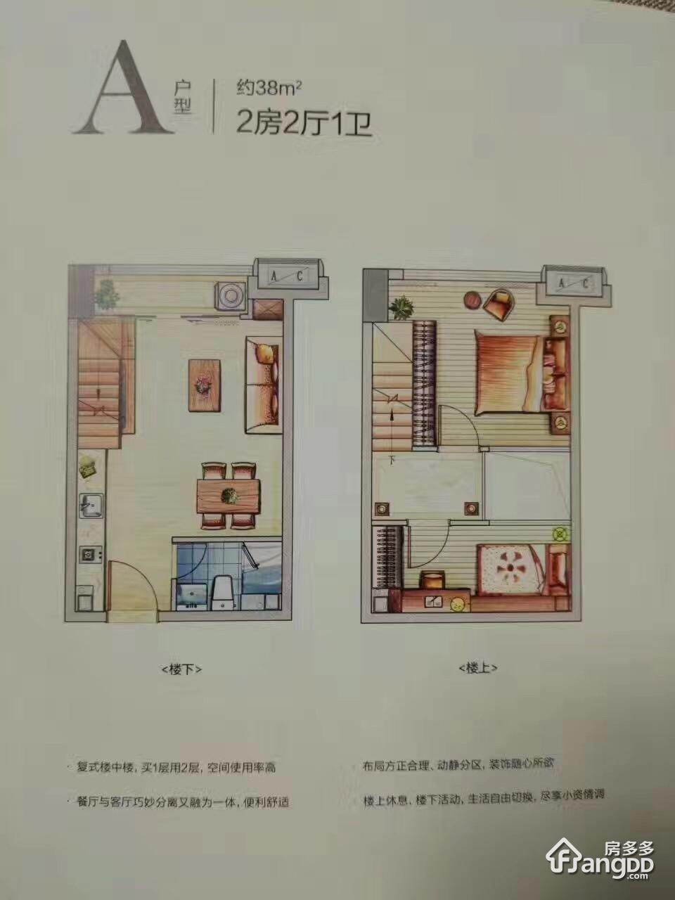 海西9号 2室2厅1卫