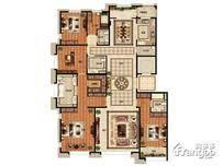 首开璞瑅公馆5室2厅4卫户型图