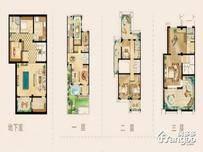 碧桂园忆西湖5室3厅3卫户型图