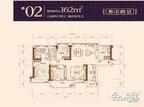 汇龙湾·天樾3室2厅2卫户型图