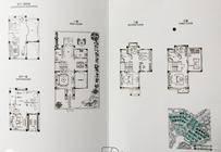 蔚蓝比华利5室3厅3卫户型图