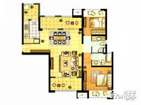 保利·海上五月花2室2厅2卫户型图