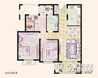 易居公馆4室2厅1卫户型图