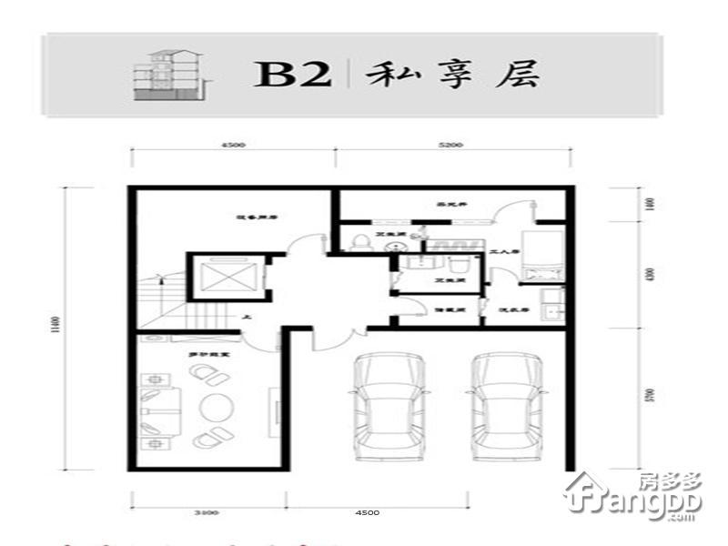 北科建泰禾·丽春湖院子4室3厅8卫户型图