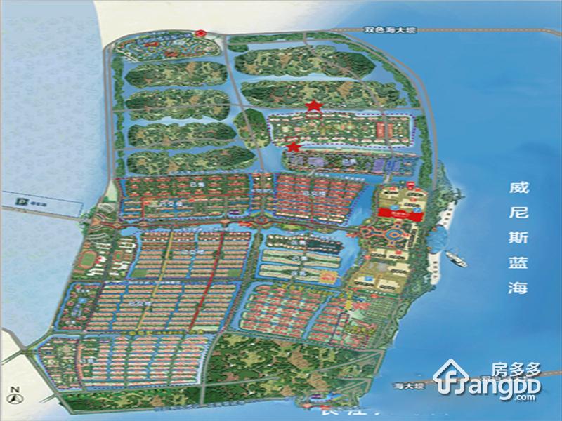 恒大海上威尼斯沙盘图