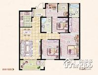 易居公馆4室2厅2卫户型图