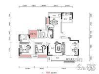 融侨观澜4室2厅2卫户型图