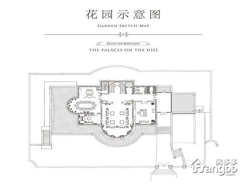 长安壹号4室3厅8卫户型图