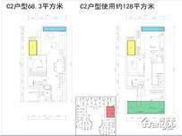 三盛滨江国际3室1厅3卫户型图