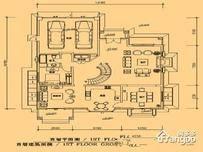 优山美地D区5室3厅4卫户型图