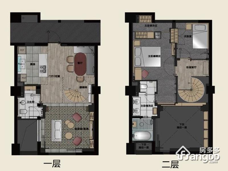 纽约时代3室1厅2卫户型图