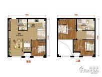建邦时代汇3室1厅2卫户型图