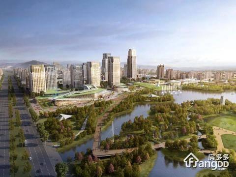 江悦城·公园里