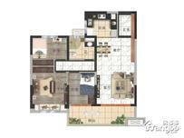 碧桂园壹号天禧3室2厅1卫户型图