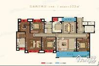 珑府4室2厅2卫户型图