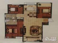中铁诺德名府3室2厅2卫户型图