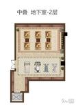 龙湖首开景粼原著4室3厅2卫户型图