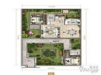 绿地梓湾国际康养度假区4室2厅4卫户型图